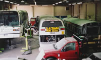 Transit Coach Collision Repair And Refinishing